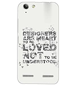 PrintDhaba QUOTE D-6878 Back Case Cover for LENOVO VIBE K5 PLUS (Multi-Coloured)