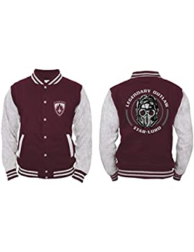 Guardians of the Galaxy - Star-Lord Hombres Chaqueta de colegio - Rojo
