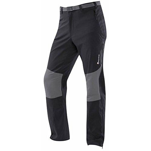 MONTANE Terra Pantalon Stretch, Noir, XL