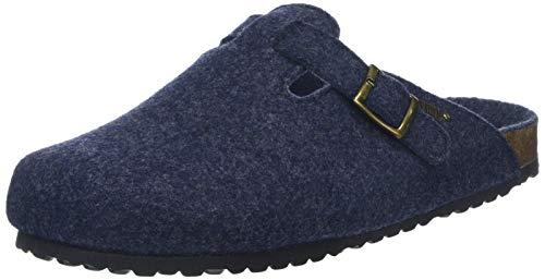 Supersoft Herren 511 064 Pantoffeln, Blau (Navy 834), 43 EU