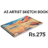 DIARY A3 Artist Book Sketch PAD