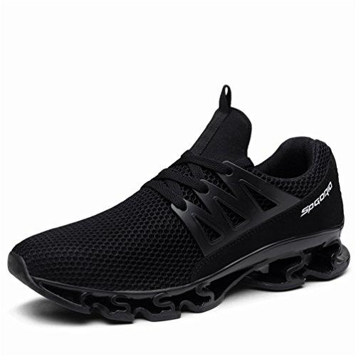 Homme Femme Chaussures de Sport Baskets Course Running Sneakers Respirantes Et Légères Trail à Lacets