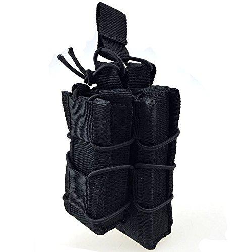 gaodear Outdoor Sport Wandern Waistpacks MOLLE TACTICAL Taschen EDC Tasche Multifunktions-Medical Kit Erste Hilfe Survival Tasche Schwarz