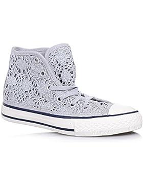 CONVERSE – Sneaker argentata Chu