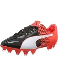 Puma Evospeed 1.5 Tricks Fg Jr, Chaussures de Football Compétition Mixte Enfant