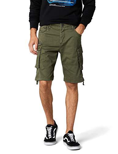 JACK & JONES Herren JJICHOP JJCARGO AKM 429 STS Shorts, Grün Olive Night, 54 (Herstellergröße: XL)