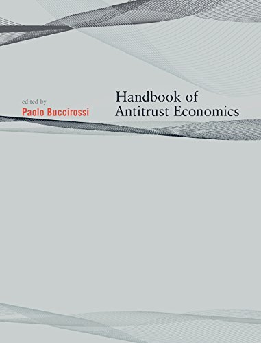 Handbook of Antitrust Economics