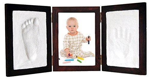Casting Keepsakes Clay Keepsake & Photo Desktop Frame Red Mahogany