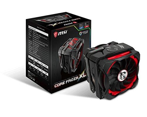 MSI Core Frozr XL Ventilateur de processeur Noir