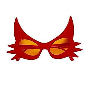 WIDMANN vd-wdm14387Gafas Diablo, rojo, talla única