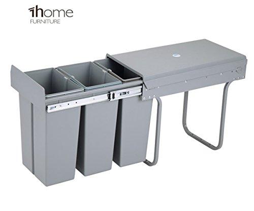 Cubo de reciclaje deslizante