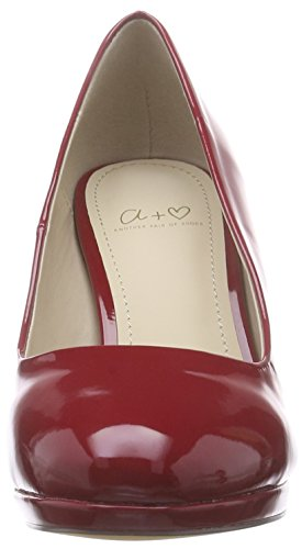 Another Pair of Shoes - Patriciaae1, Scarpe con plateau Donna Rosso (red31)