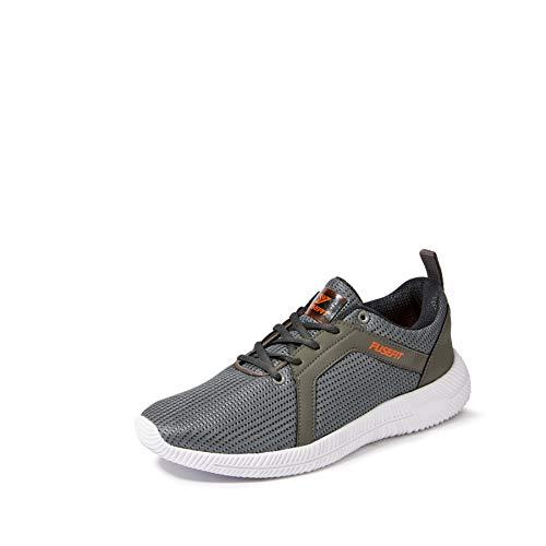 Fusefit Men's Xtream Grey Running Shoes-7 UK/India (41 EU)(FFR-103)