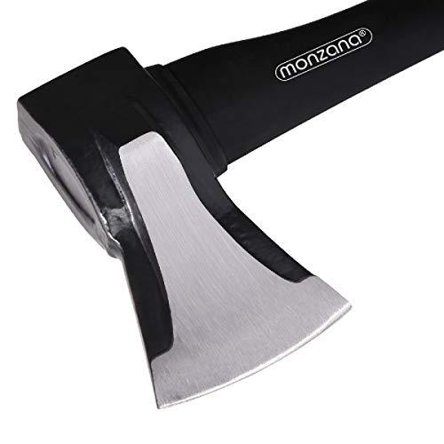 7d99f03629 Deuba Ascia spaccalegna ed Accetta Set manico ergonomico spaccare legno  spacca legna accetta spacco