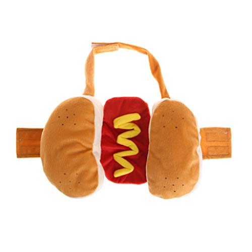 JAGETRADE Pet Coat Hot Dog lustig Winter gefüllte -