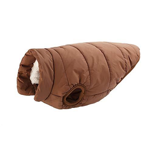 (TYJY Haustier Hund Kleidung Für Große Hund Winter Warme Grundlegende Hundemantel Jacke FürFleece Futter Ropa para Perros Xs-3Xl)