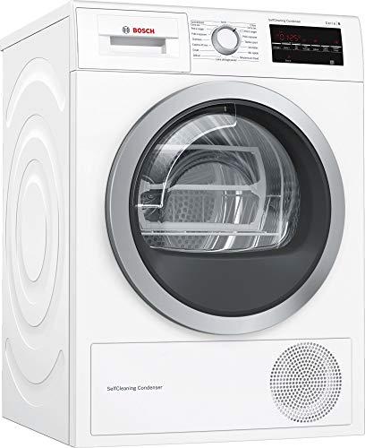 Bosch Serie 6 WTW87499FF machine à laver Autonome Charge avant Blanc 3 kg C - Machines à laver (Autonome, Charge avant, Blanc, Boutons, Rotatif, Gauche, Blanc)