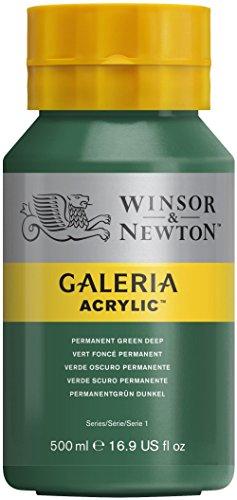 winsor-and-newton-galeria-acrylic-colour-500ml-482-permanent-green-deep-pot