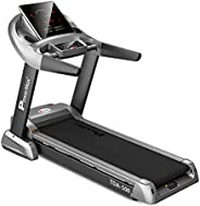PowerMax Fitness Unisex Adult TDA-500 (6.0 Hp) Motorized Treadmill With Semi Auto Lubrication With 3d Smart To