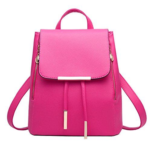 LAIDAYE PU-Schulterbeutel-Art Und Weisedamen Sacken Rucksackhandtaschen Ein 10