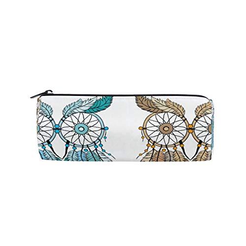 Ahomy - Estuche con cremallera para lápices, diseño de búho atrapasueños, para adolescentes y niños, bolsa de maquillaje de viaje para mujeres