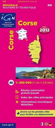 R19 CORSE 2012 1/250.000