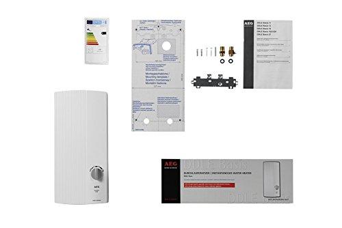 AEG elektronischer Durchlauferhitzer DDLE Basis, umschaltbar 18/21/24 kW - 7