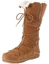 Moon Boot W.E. Vagabond High 24000100 - Botas de cuero para mujer