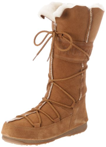 Moon Boot W.E. Vagabond High, Damen Stiefel & Stiefeletten Orange - Orange (Arancione)