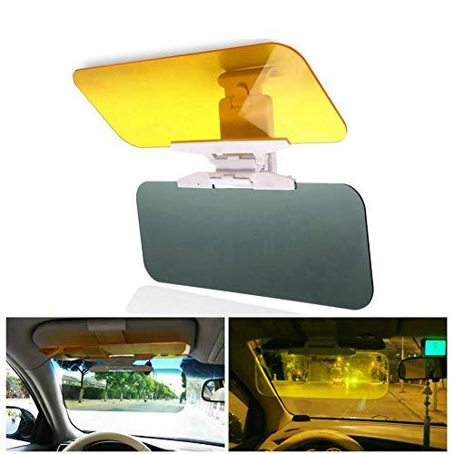 GuDoQi 2 in 1 Auto Sonnenblende Spiegel Nacht Blendschutz Spiegel Auto Gläser Nachtsichtbrillen