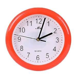 Fyzs The Circular Wall Clock Clock Clock Clock Watch Fashion Bedroom Living Room Yellow Wall