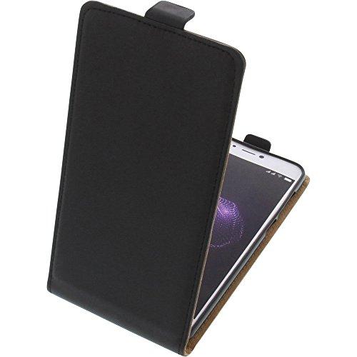 foto-kontor Tasche für Allview X4 Soul Lite Smartphone Flipstyle Schutz Hülle schwarz
