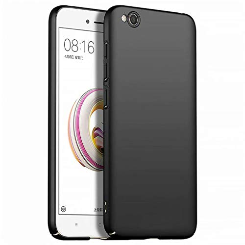 Funda Xiaomi Redmi GO Caja Caso MUTOUREN PC Carcasa Anti-Scratch Anti-rasguños Bumper Protectora de teléfono Case Cover para Xiaomi Redmi GO (Negro)