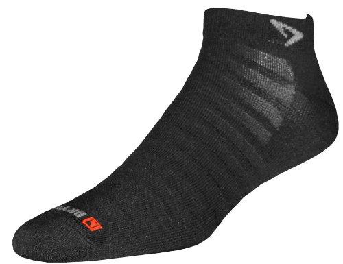 Drymax Hyper Thin Running Mini Crew Socken-Black-M -