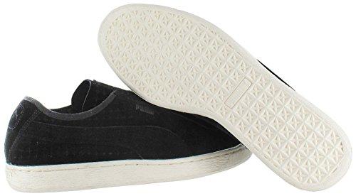 Sneakers Puma Suede Courtside Cour Chaussures perforées Black
