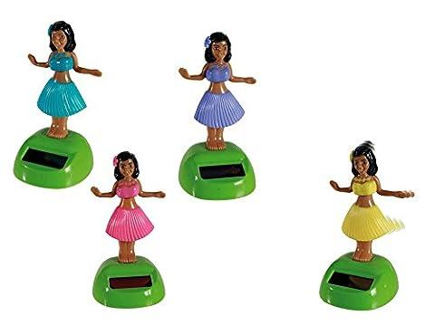 Solar Wackel Figur, Hula-Girl, Hawaii, Mädchen, ideal für die Fensterbank,
