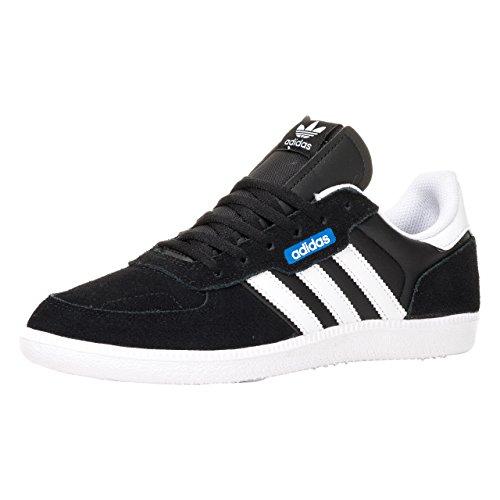 adidas Leonero, Sneakers Basses Homme Core Black/White/Bluebird