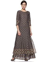 Aasi - House of Nayo Women's Cotton Straight Kurta