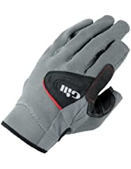 Gill Deckhand JUNIOR Glove Long Finger Grey/Black 7051J Size-- - Child