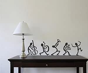 Enjoy With Band Wall Sticker Decal