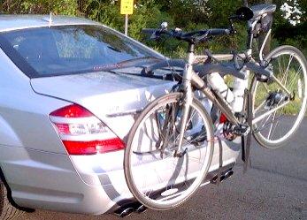 Audi A8Limousine Bike Rack Fahrradträger Rack