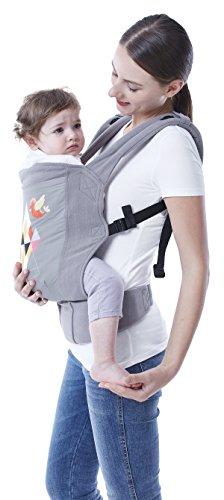 R For Rabbit Hug Me Elite- The Ergonomic Baby Carrier (Grey)