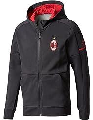 Adidas pour homme ACM Cache-pot Anthracite nacré Sqd 3AC Milan Sweat-shirt