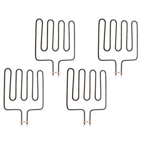 F Fityle 4 Pezzi Elemento Riscaldante per La Sauna Strumento Laboratoriale del Prodotto Affari Scientifici Resistenza alle Alte Temperature