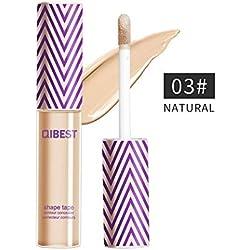 Maquillage Professionnel Fond de Teint Liquide Haute Definition BB Creme Correcteur pour tous les peaux (C)