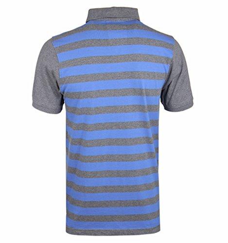 Luke 1977 Herren Poloshirt Mid Grey Sky Mix