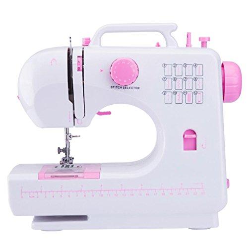 Xuan - worth having Estilo moderno Máquina de coser Hogar Multifunción eléctrico Pequeño