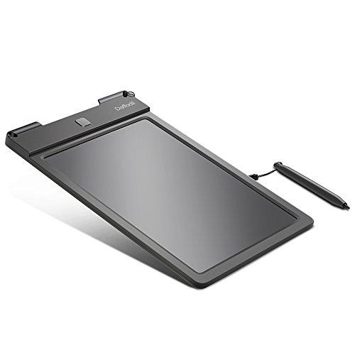 Ardoise Graphique d'Écriture LCD – Daffodil WT100 – Tablette 9'' Noir Numérique Digital - Tableau Électronique Écologique avec Stylo Double Sens Effaçable avec Protection Anti-Effacement