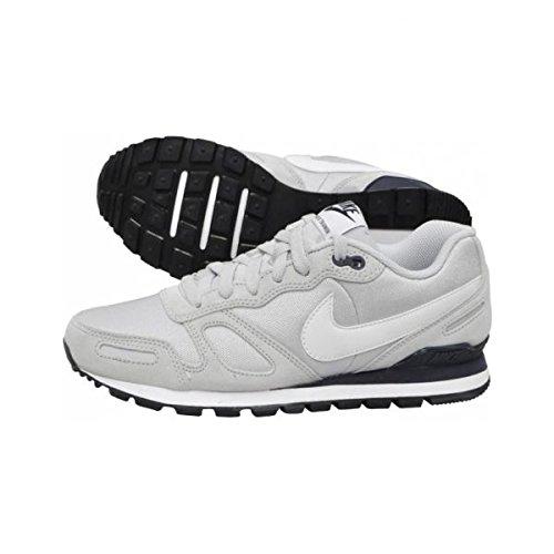Nike  Air Waffle Trainer, Chaussures homme Argenté / blanc / noir (platine pur / blanc - obsidienne)