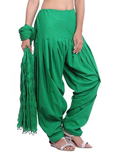 JAIPUR FASHION HUB Women's 100% Pure Cotton Semi readymade Bottom Patiala Salwar...